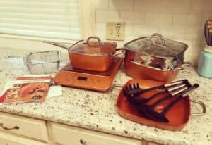 difference  cooking  copper  steel
