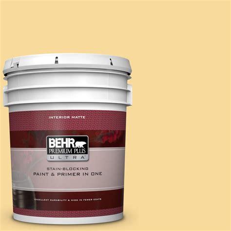 behr premium plus ultra 5 gal 360c 3 honey tone matte