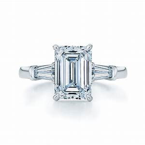 vintage emerald cut diamond engagement rings emerald cut With emerald diamond wedding rings
