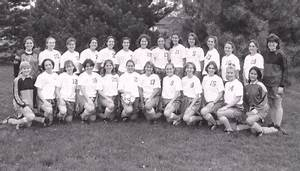 """1996-1997 Women's Soccer Team"" by Cedarville College"