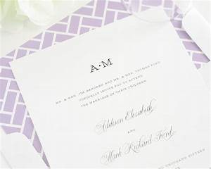 Simple wedding invitations yaseen for for Simple wedding invitations with pictures