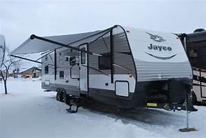 29 U0026 39  Jayco Jayflight Qbs Bunk House Luxury Travel Trailer