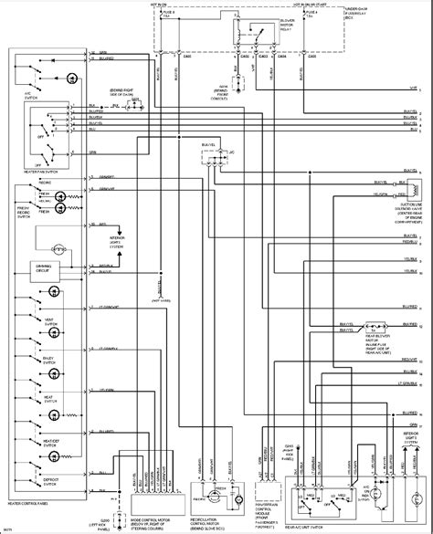 honda odyssey 1997 misc document system wiring diagrams pdf