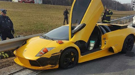 crashed  lamborghini    bostoncom
