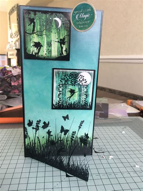 hunkydory twilight kingdom  card hunkydory crafts