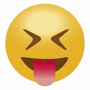 Happy tongue emoji emoticon - Transparent PNG & SVG vector