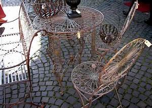Gartenmöbel Aus Metall : gartenm bel aus metall mediterrane terrasse ~ One.caynefoto.club Haus und Dekorationen