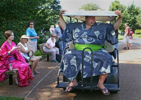 japanese festival at the missouri botanical garden gallery