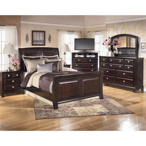 signature design by bedroom sets signature design by ridgley 4 pc bedroom set