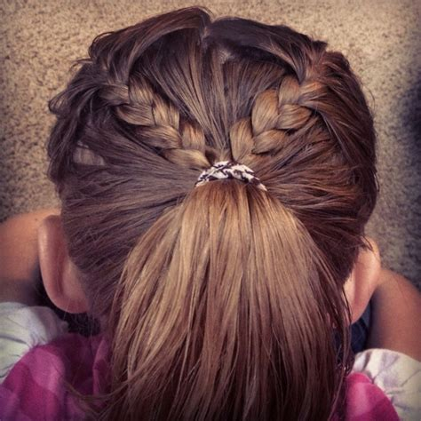 Easy Kid Hairstyles by 83 Best Braid Bun And Ponytail Hairstyles Images On