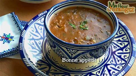 cuisine marocaine ramadan recette de harira soupe traditionnelle marocaine