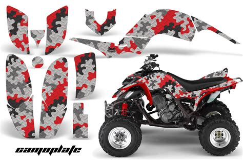 yamaha raptor 660 amr racing graphics sticker raptor660 kit atv decals cp r ebay