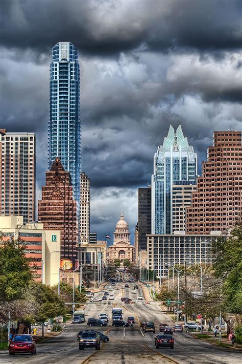 Downtown Austin Austin Skyline Places To Visit Places