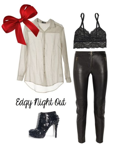 Edgy Outfit Idea. Just lose the bow... | Clothes Jewlery and Furniture oh my!! | Pinterest ...