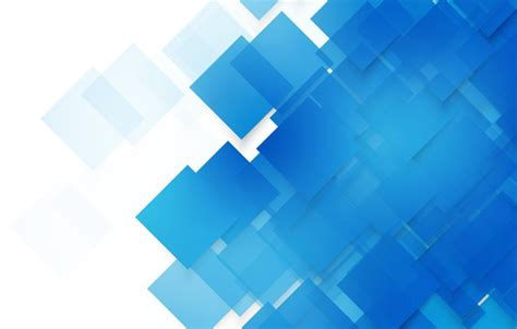 Wallpaper abstract, blue, background, Vector, squares ...