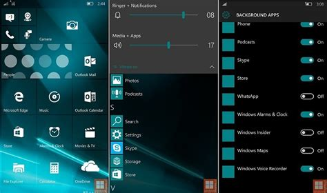 Screenshots Zu Windows 10 Mobile Build 10162 Durchgesickert