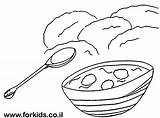 Coloring Pages Soup Colouring Painting Paint sketch template