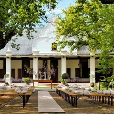 nooitgedacht wedding venue  stellenbosch winelands