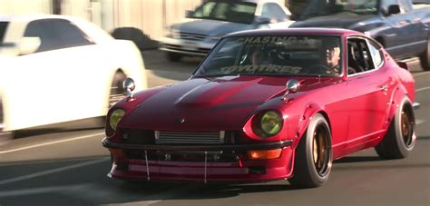 massively modified datsun  rides  jay lenos garage