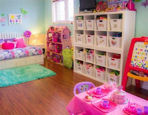Organized Playroom Room Ideas For Girls