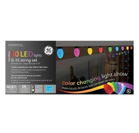 set of 50 color changing led g35 multi function ge