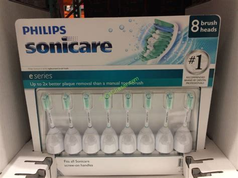 Philips Sonicare E Series 8-pack Replacement Brush Heads