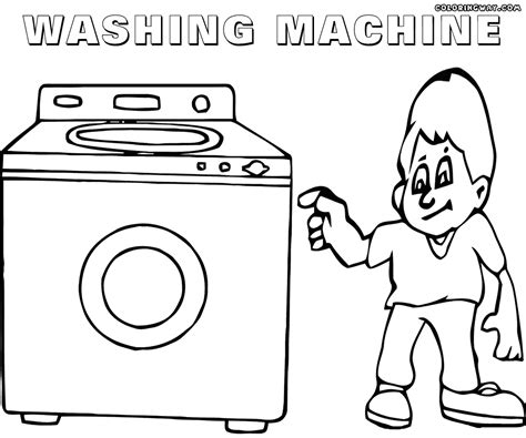 Washer Coloring Pages  Coloring Pages To Download And Print