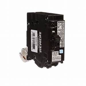 Siemens Q120df 20 Gfci Dual Function Circuit Breaker