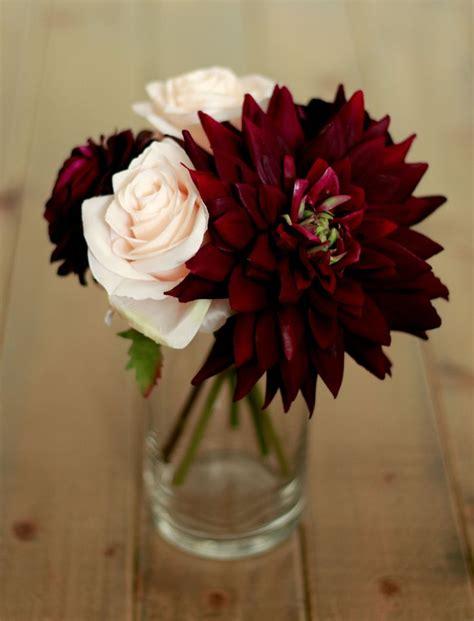 plum burgundy wedding centerpiece wedding pinterest