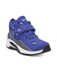 nike air max speed turf raider training sneakers  blue