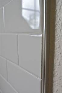 bathroom tile trim ideas 1000 images about shluter trim on glass mosaic tiles grout and shower niche