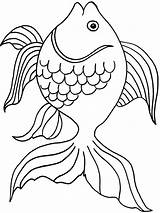 Goldfish Coloring Pages Fish Printable Bowl Template Getcolorings Drawing Pa Colorings Crackers Getdrawings Colors Recommended Goldfishes sketch template