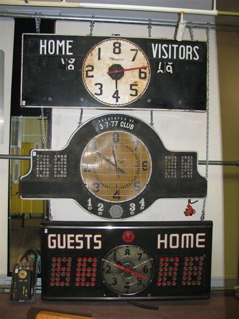 vintage basketball scoreboard basketball party