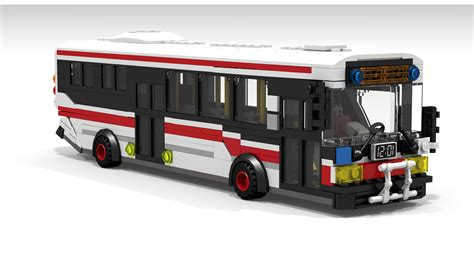 Toronto Reddit User Makes A Miniature Ttc Bus Out Of Lego