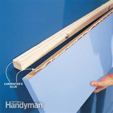 how to mount a shelf how to build floating shelves the family handyman