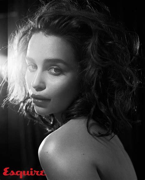 Emilia Clarke X Esquire Nov. 2015 By Vincent Peters