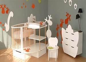Chambre Enfant Moderne : d co chambre b b moderne ~ Teatrodelosmanantiales.com Idées de Décoration