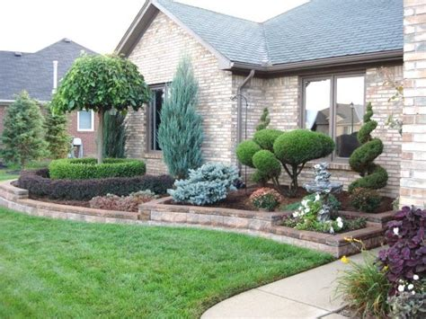 Front Yard Garden Decoration by Front Yard Walls Front Yard Retaining Wall Yard