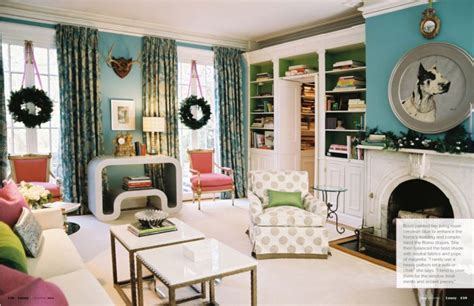 Obsessed With Blue & Green Living Room Decoration Ottomans Sofa Bed Sets Craftsman Furniture Large Wall Mirrors For Nice Small Rooms Apartment Size