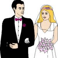 clipart mariage wedding clipart free graphics images pictures of cake brides and grooms