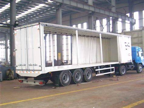 curtain side semi trailer huai an special purpose