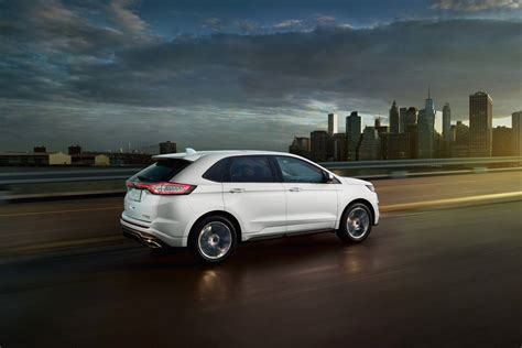 ford edge suv  ecoboost   powerful