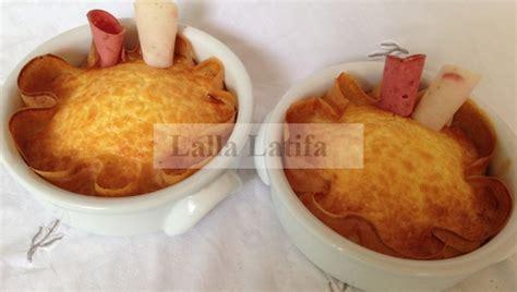 secrets de cuisine les secrets de cuisine par lalla latifa quiches aux charcuteries