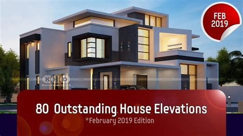 house elevation designs  february  youtube