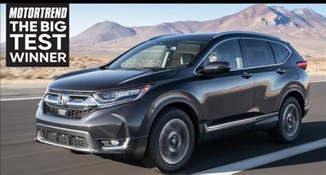 2019 Honda Cr-v Tops Motor Trend's Compact Suv List In The