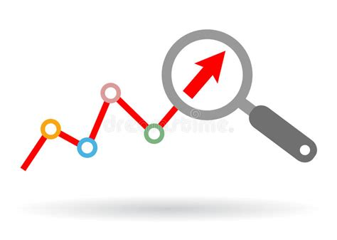 Data Analysis Icon Stock Vector. Illustration Of Button