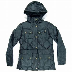 barbour ladies nation down jacket black womens jackets With barbour down coat