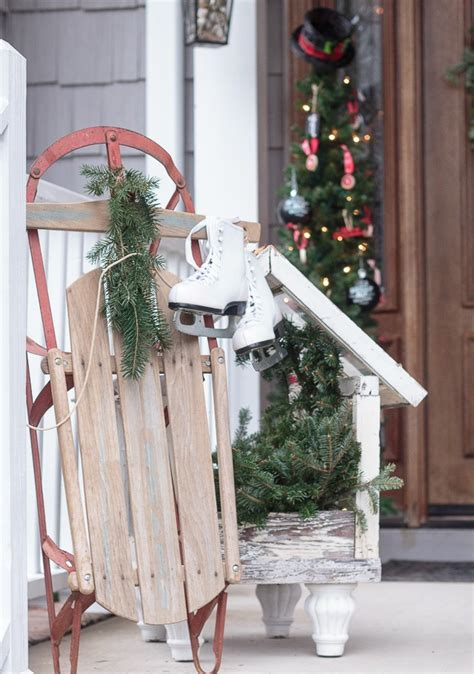 vintage style for outdoor christmas decorations homesfeed