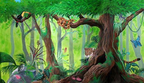 Rainforest Mural By Kchan27 On Deviantart