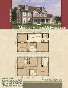 modular homes illinois photos - Two Story Open Floor Plans